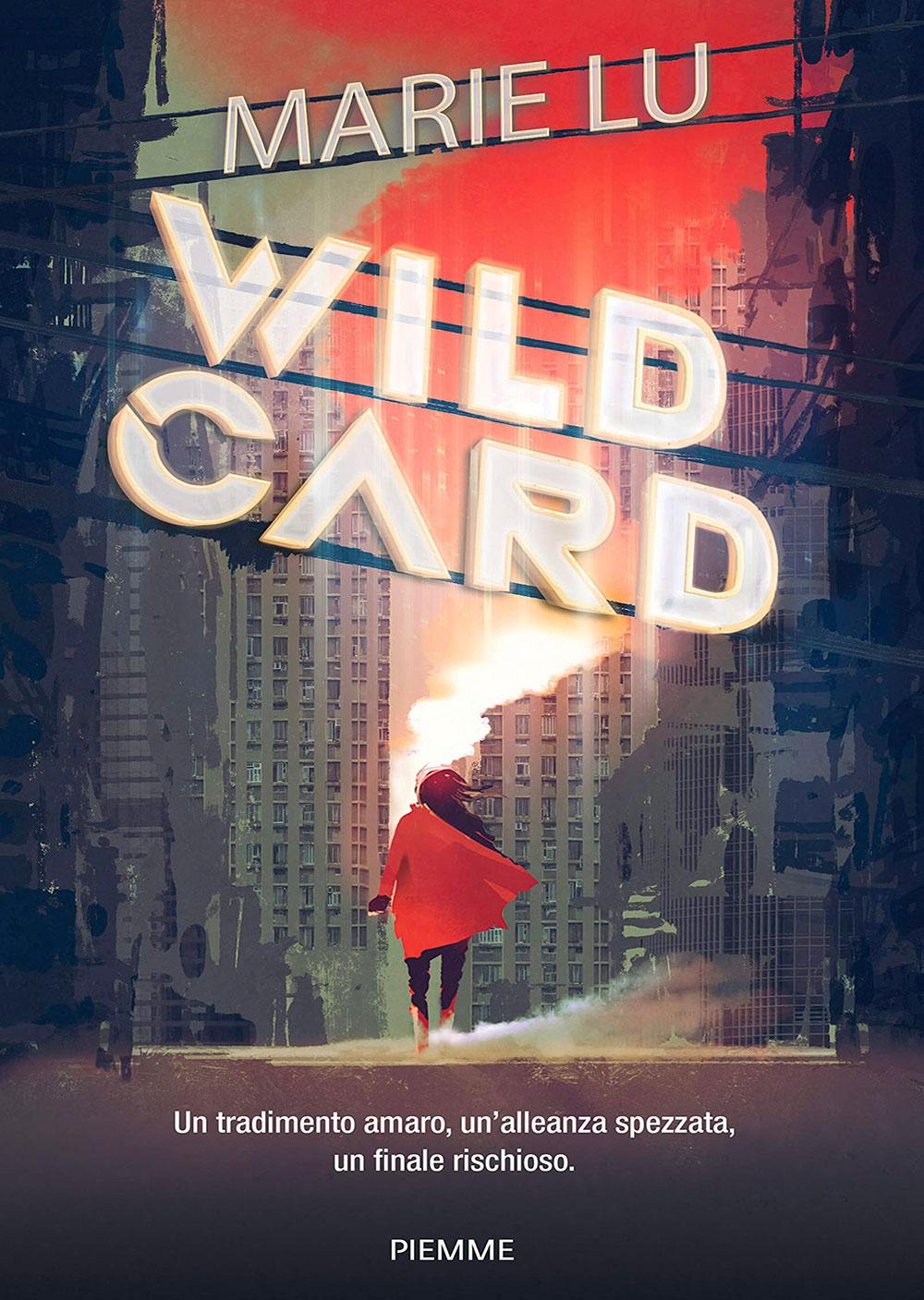 Copertina Wildcard di Marie Lu