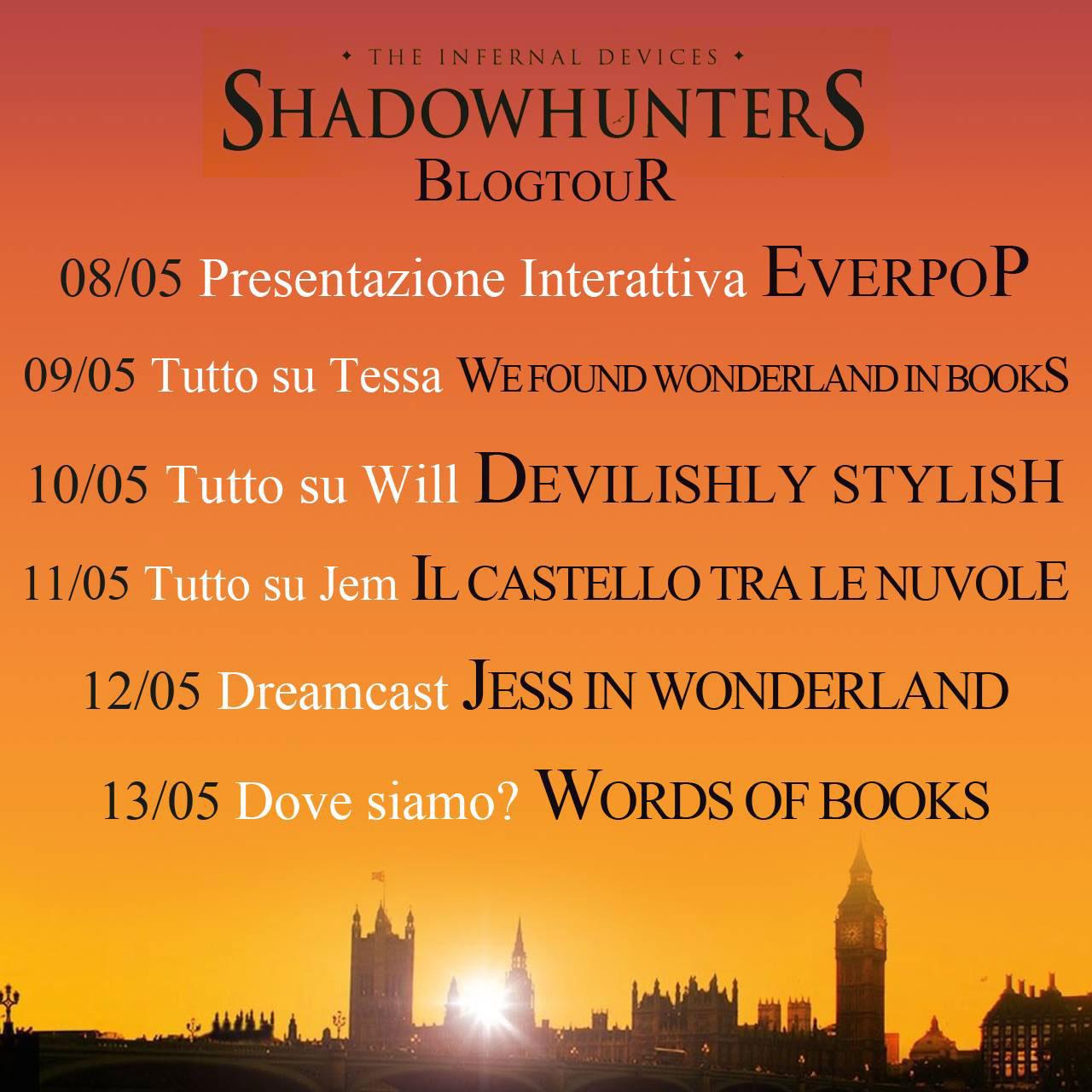 Calendario Shadowhunters