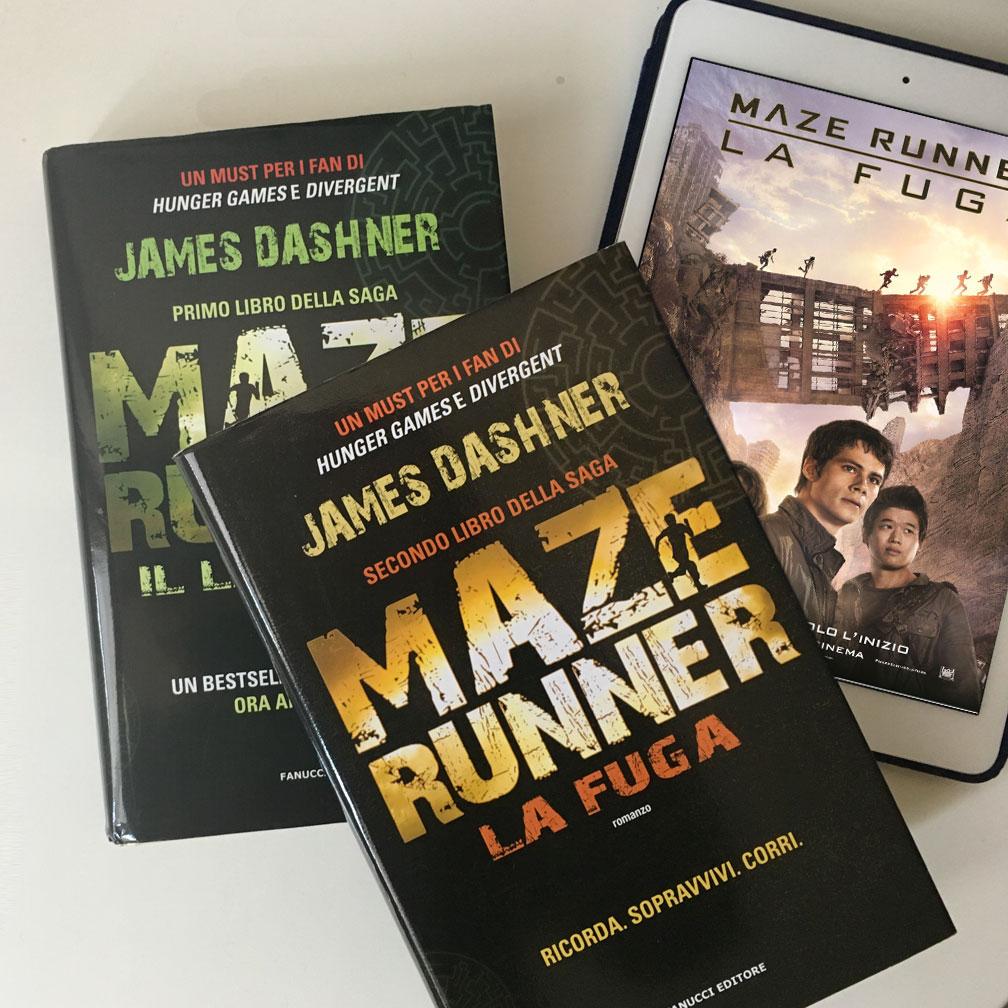Maze runner. La fuga