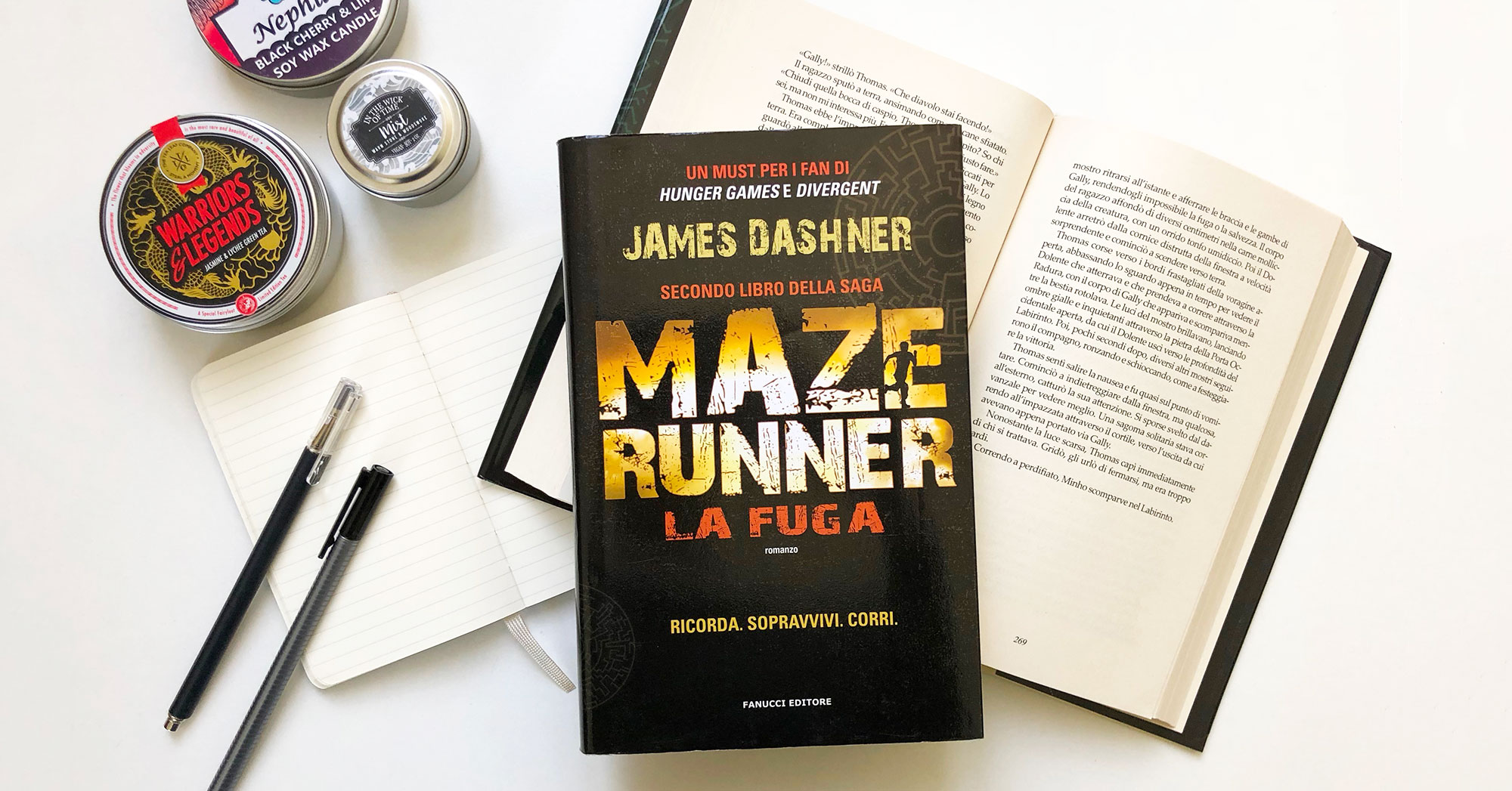 The maze runner. La fuga