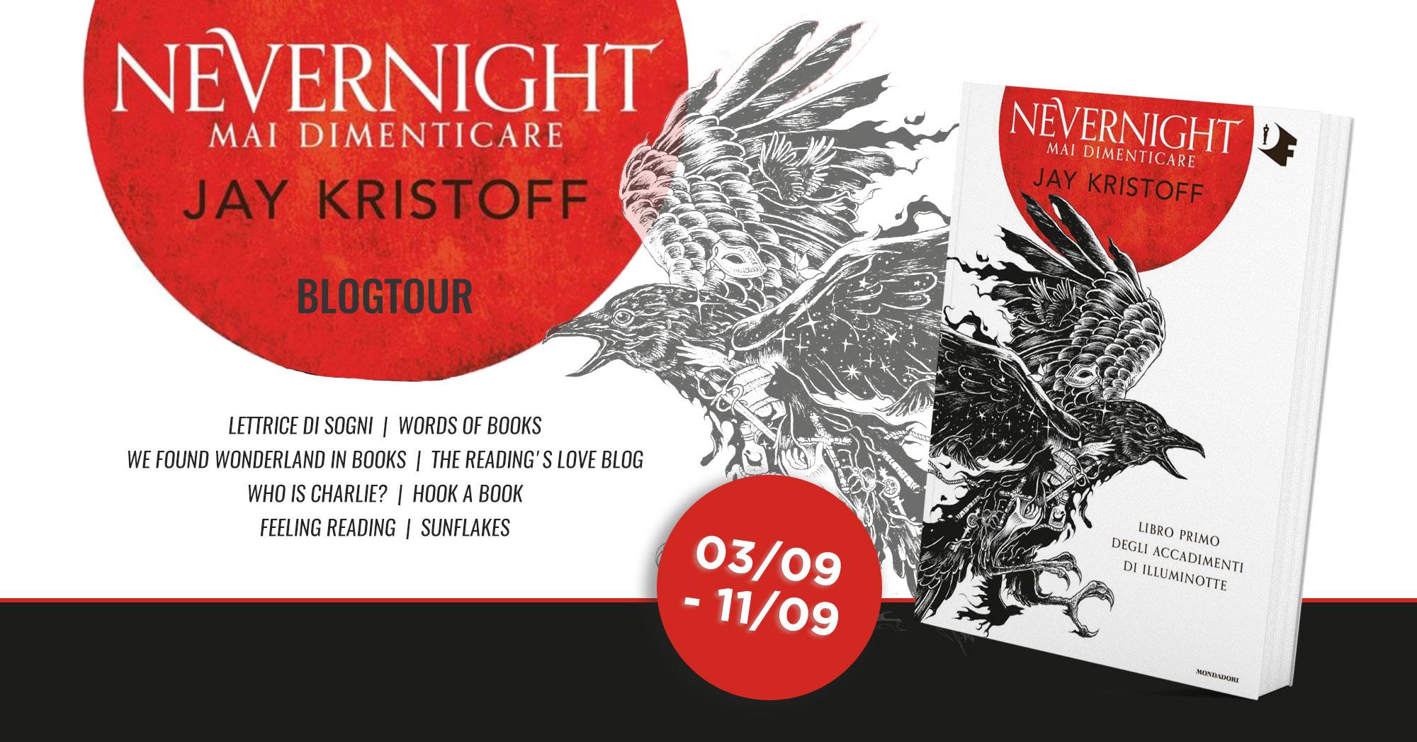 """Blogtour: 2ª tappa """"Nevernight #1. Mai dimenticare"""""""