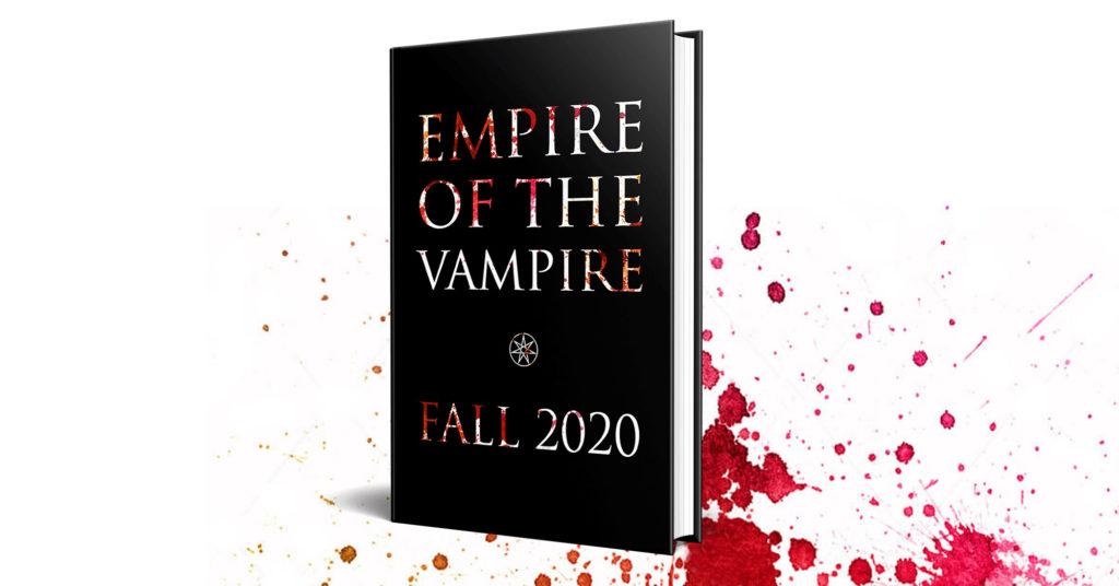 """Copertine dei libri della serie """"Empire of the vampire""""."""